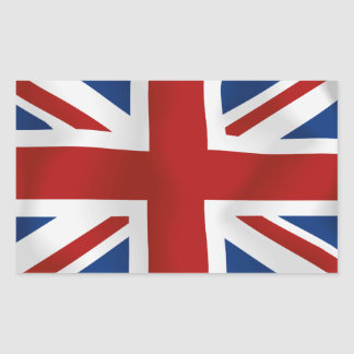 Flag of The United Kingdom #2 rectangle Stickers