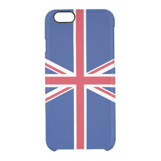 Flag of the United Kingdom Clear iPhone Case