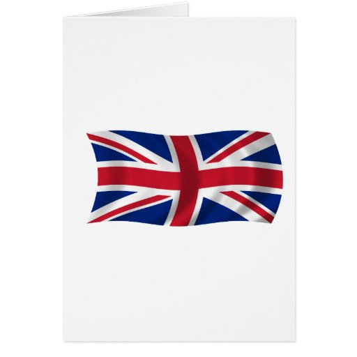 Flag of the United Kingdom Greeting Card