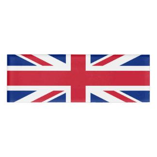 Flag of the United Kingdom Name Tag