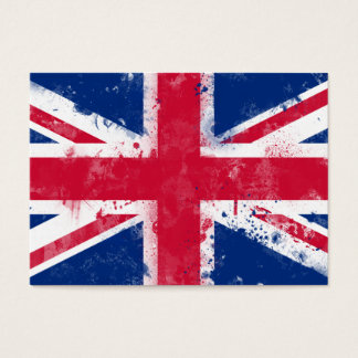 Flag of the United Kingdom or the Union Jack Business Card
