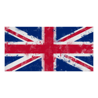 Flag of the United Kingdom or the Union Jack Poster