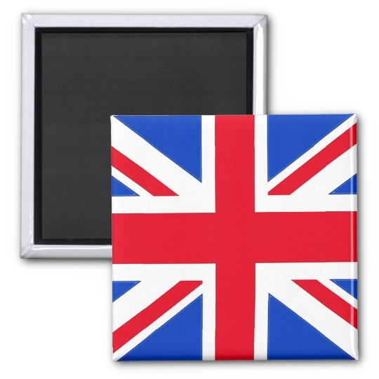 Flag of the United Kingdom Square Magnet