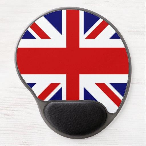 Flag of the United Kingdom the Union Jack Gel Mousepad