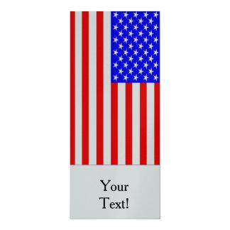 Flag of The United States 10 Cm X 24 Cm Invitation Card