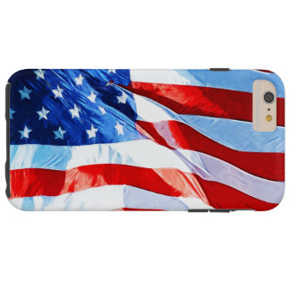 Flag of the United States Abstract Impressionism Tough iPhone 6 Plus Case