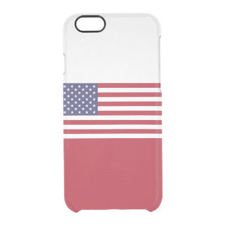 Flag of the United States Clear iPhone Case