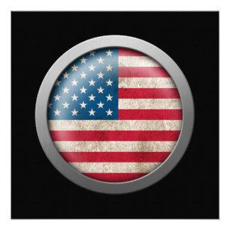 Flag of The United States Disc Invite