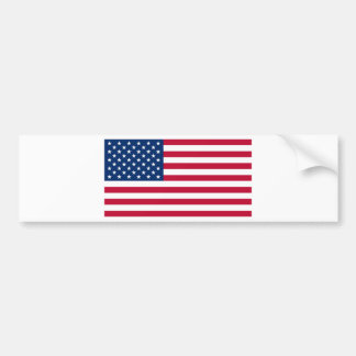 Flag of the United States of America Bumper Stickers