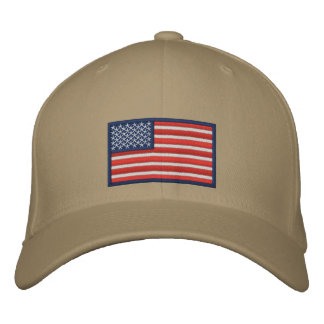 Flag of the United States of America Embroidered Baseball Caps
