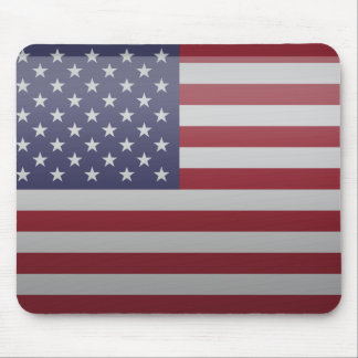 Flag of the United States of America Mouse Pad