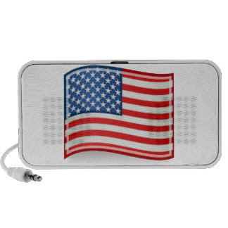 Flag of the United States of America Mp3 Speakers