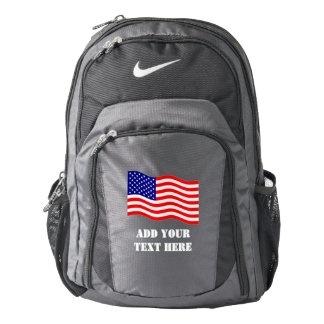 Flag of the United States of America - your ideas Backpack