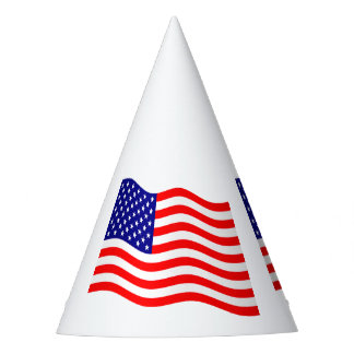 Flag of the United States of America - your ideas Party Hat