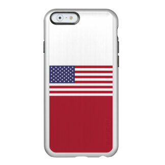 Flag of the United States Silver iPhone Case Incipio Feather® Shine iPhone 6 Case
