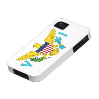 Flag of the US Virgin Islands Vibe iPhone 4 Covers