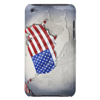 Flag of the USA Barely There iPod Cases