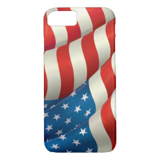 Flag of the USA iPhone 8/7 Case