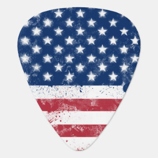 Flag of the USA Plectrum