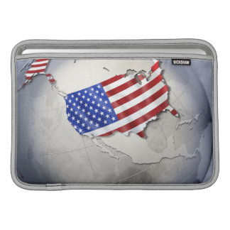 Flag of the USA Sleeve For MacBook Air