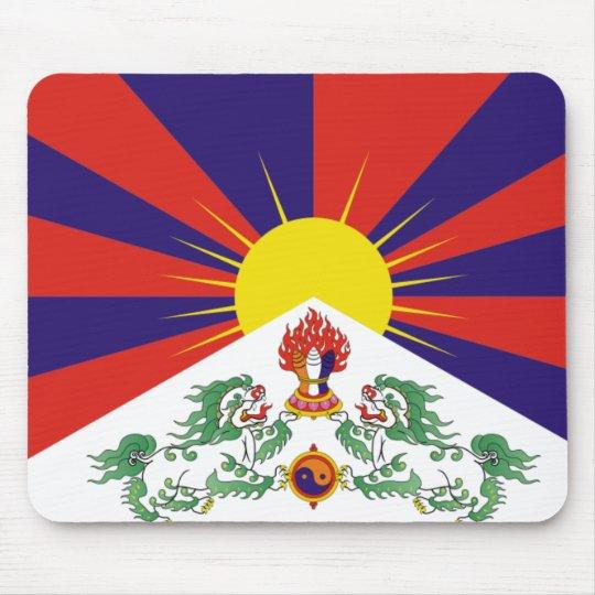 Flag of Tibet Mouse Mat