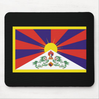 Flag of Tibet Mousepads
