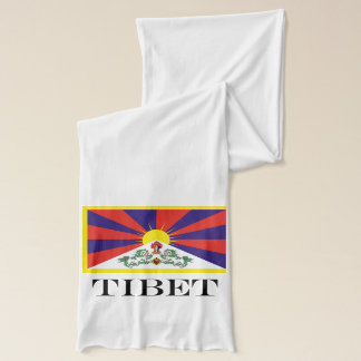 Flag of Tibet  or Snow Lion Flag Scarf