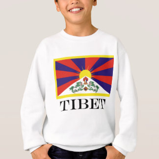 Flag of Tibet  or Snow Lion Flag Sweatshirt