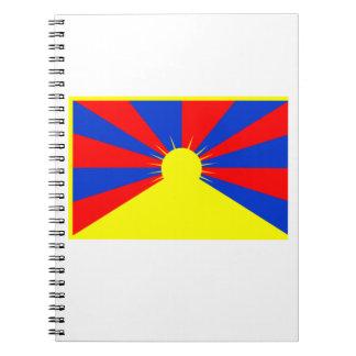 Flag of Tibet Spiral Notebook