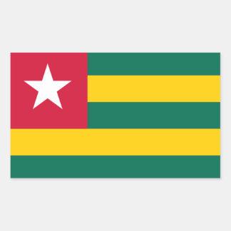 Flag of Togo Rectangular Sticker