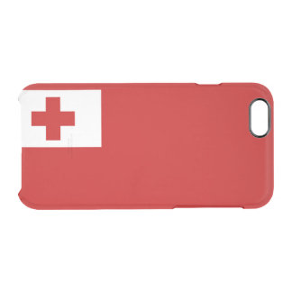 Flag of Tonga Clear iPhone Case