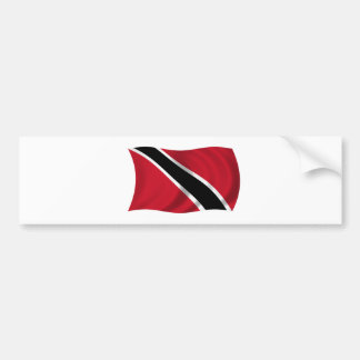 Flag of Trinidad and Tobago Bumper Sticker