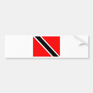 Flag of Trinidad Bumper Sticker