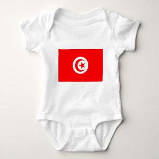 Flag of Tunisia Baby Bodysuit