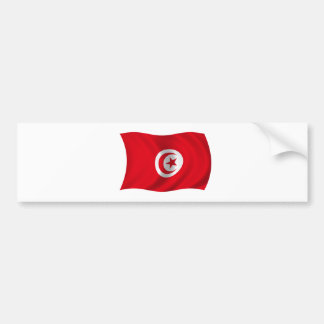 Flag of Tunisia Bumper Sticker