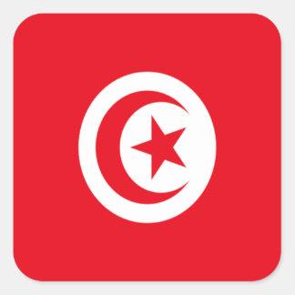 Flag of Tunisia Square Sticker