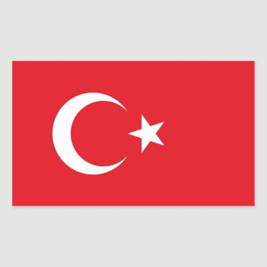 Flag of Turkey Decal Sticker