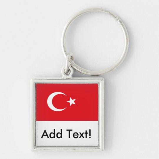 Flag of Turkey Key Ring