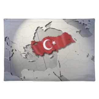 Flag of Turkey Placemat