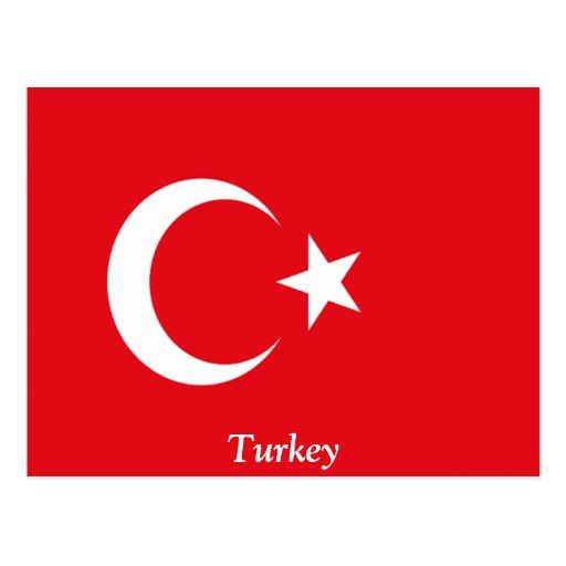 Flag of Turkey Postcards