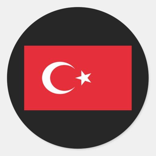 Flag of Turkey Sticker