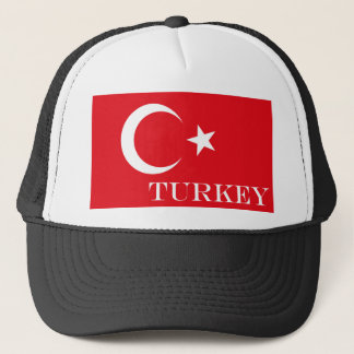 Flag of Turkey Trucker Hat