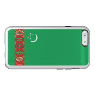 Flag of Turkmenistan Silver iPhone Case Incipio Feather® Shine iPhone 6 Case