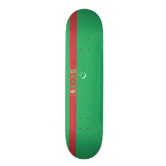 Flag of Turkmenistan Skateboard Deck