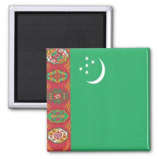 Flag of Turkmenistan Square Magnet