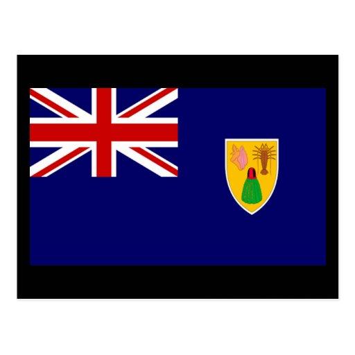Flag of Turks and Caicos Islands Postcards