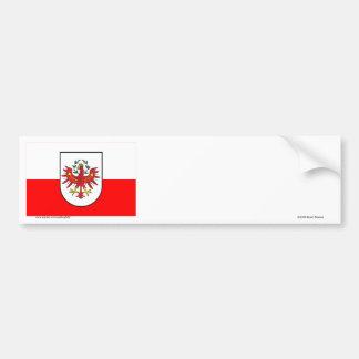 Flag of Tyrol, Austria Bumper Sticker