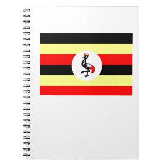 Flag of Uganda Note Book