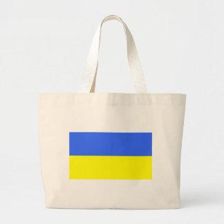 Flag of Ukraine Large Tote Bag