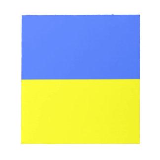 Flag of Ukraine Notepad